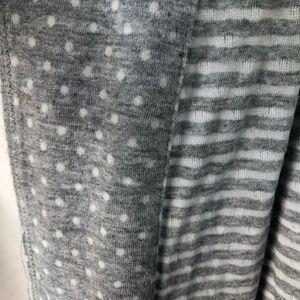 Catherines Intimates & Sleepwear - NEW Catherines 0X 14 16 Gray Belted Robe Polka Dot